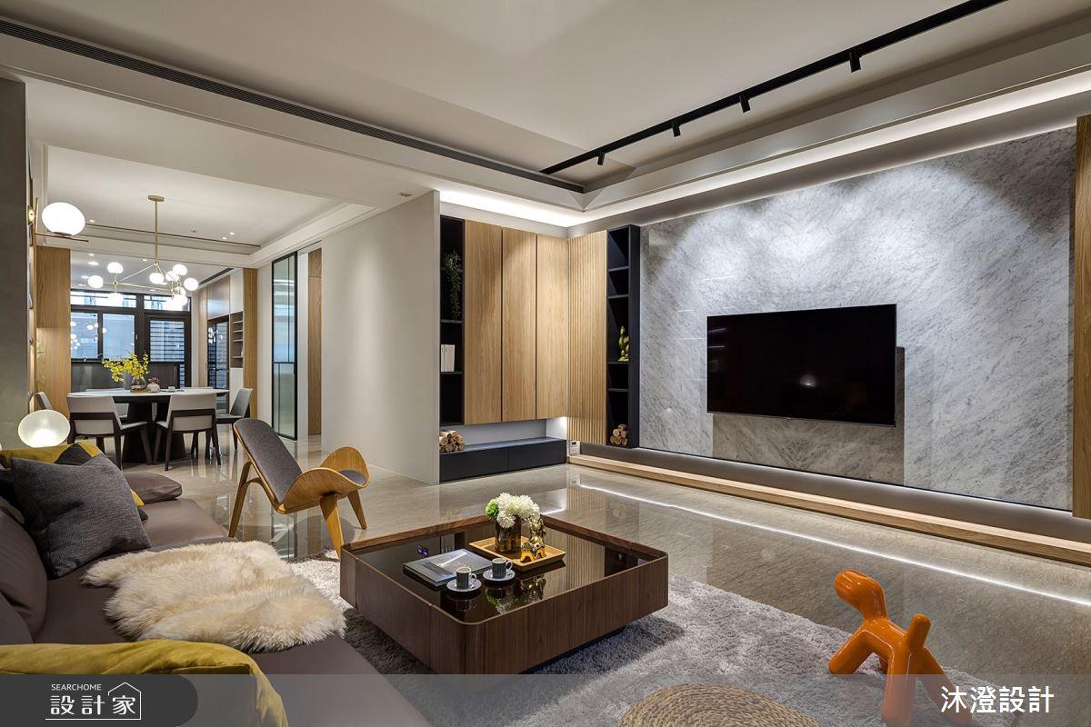 85坪新成屋(5年以下)_北歐風客廳案例圖片_沐澄設計有限公司_沐澄_60之3