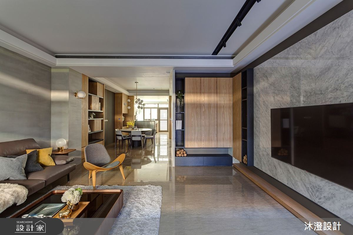 85坪新成屋(5年以下)_北歐風客廳案例圖片_沐澄設計有限公司_沐澄_60之4