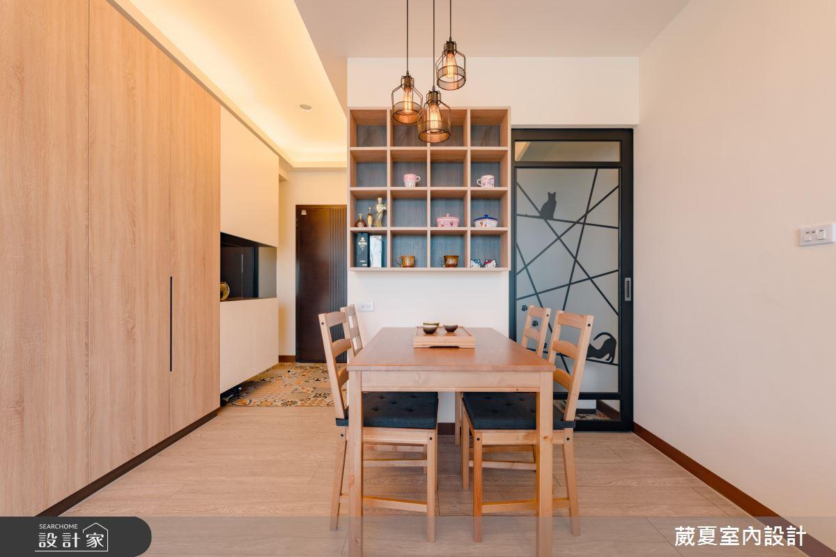 45坪新成屋(5年以下)_簡約風餐廳案例圖片_葳夏室內設計_葳夏_03之4