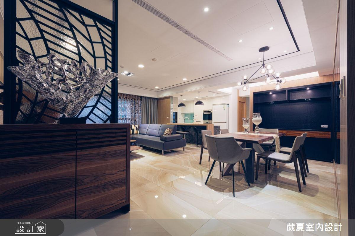 90坪新成屋(5年以下)_混搭風餐廳案例圖片_葳夏室內設計_葳夏_05之1