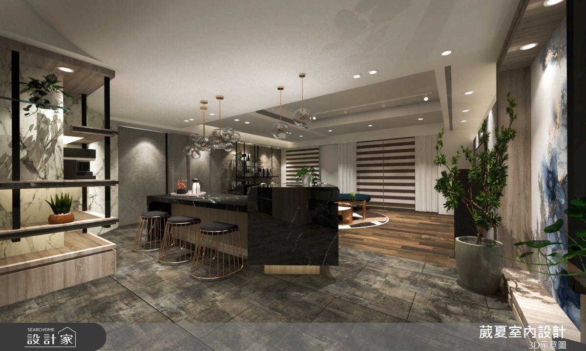 45坪新成屋(5年以下)_飯店風吧檯案例圖片_葳夏室內設計_葳夏_07之3