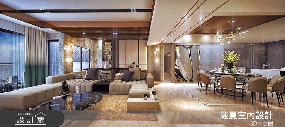 132坪中古屋(5~15年)_飯店風客廳案例圖片_葳夏室內設計_葳夏_08之5
