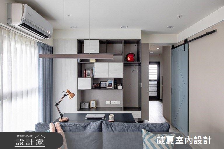 28坪新成屋(5年以下)_北歐風書房案例圖片_葳夏室內設計_葳夏_10之7