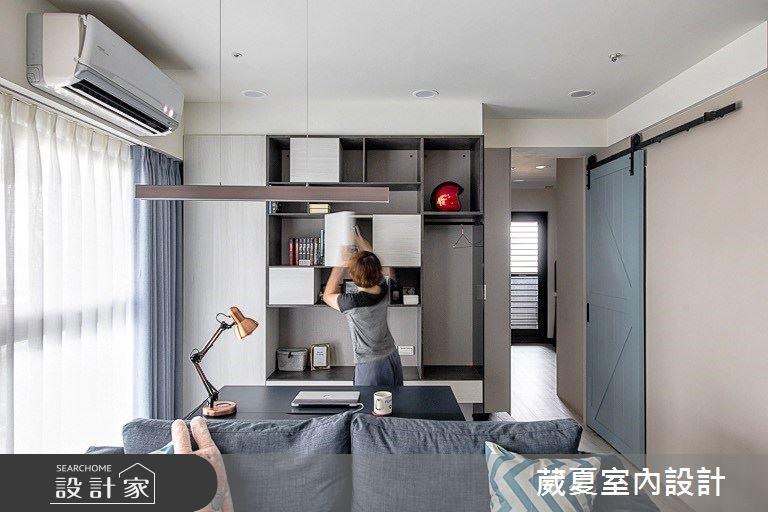 28坪新成屋(5年以下)_北歐風書房案例圖片_葳夏室內設計_葳夏_10之8