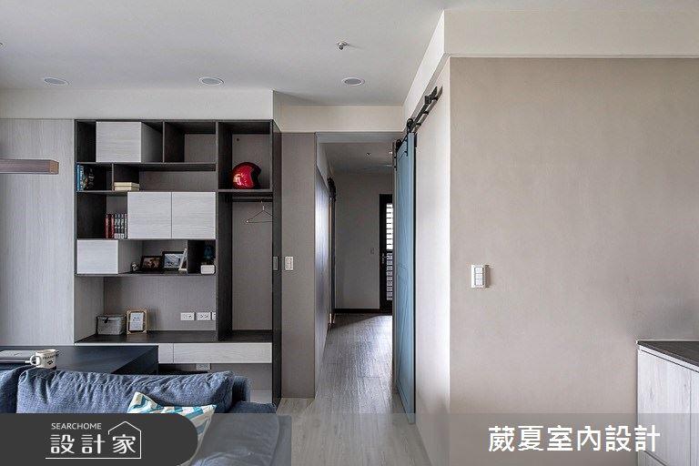 28坪新成屋(5年以下)_北歐風書房案例圖片_葳夏室內設計_葳夏_10之9
