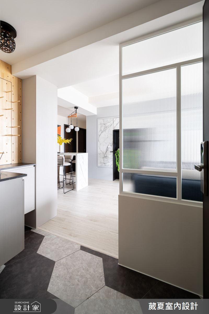 30坪新成屋(5年以下)_北歐風玄關案例圖片_葳夏室內設計_葳夏_13之2