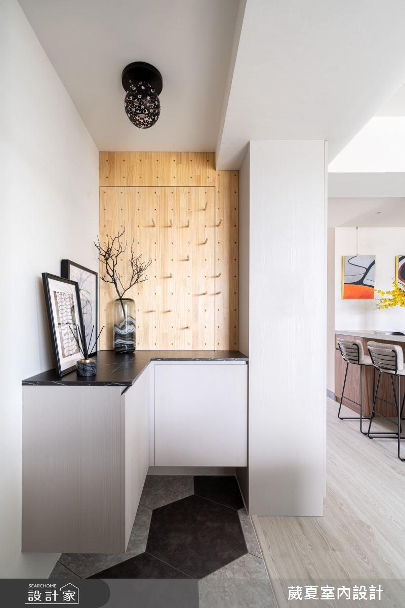 30坪新成屋(5年以下)_北歐風玄關案例圖片_葳夏室內設計_葳夏_13之3
