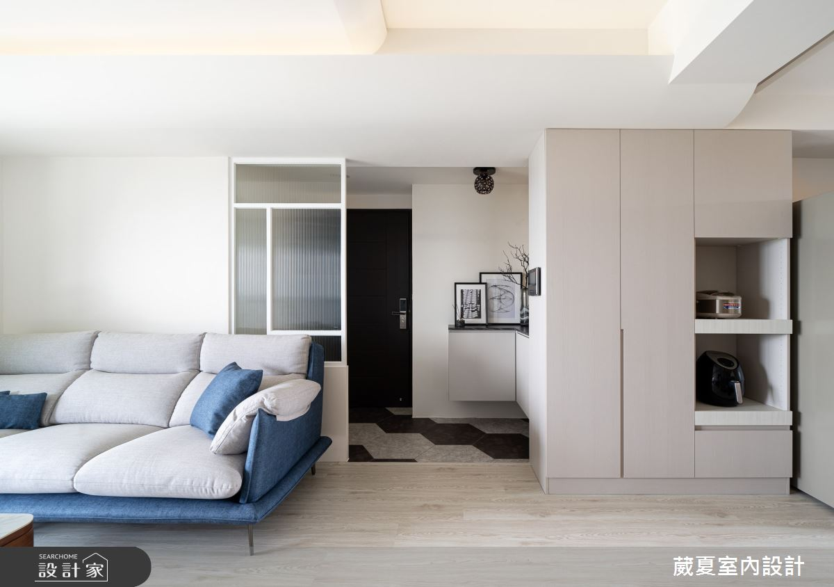 30坪新成屋(5年以下)_北歐風客廳案例圖片_葳夏室內設計_葳夏_13之5