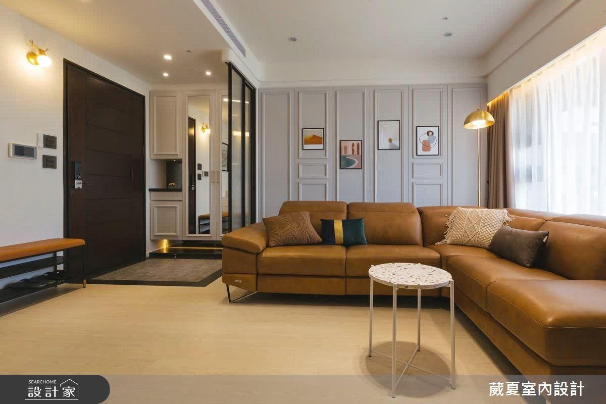 50坪中古屋(5~15年)_混搭風客廳案例圖片_葳夏室內設計_葳夏_14之2