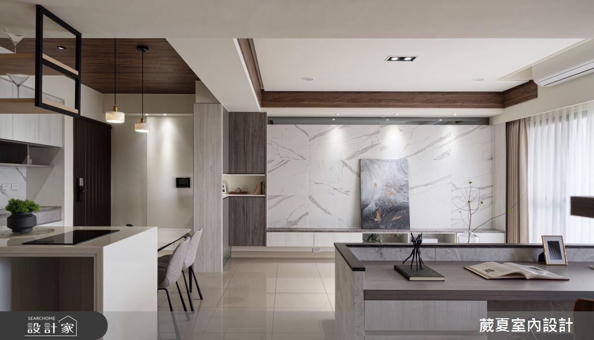 40坪新成屋(5年以下)_現代風案例圖片_葳夏室內設計_葳夏_17之10