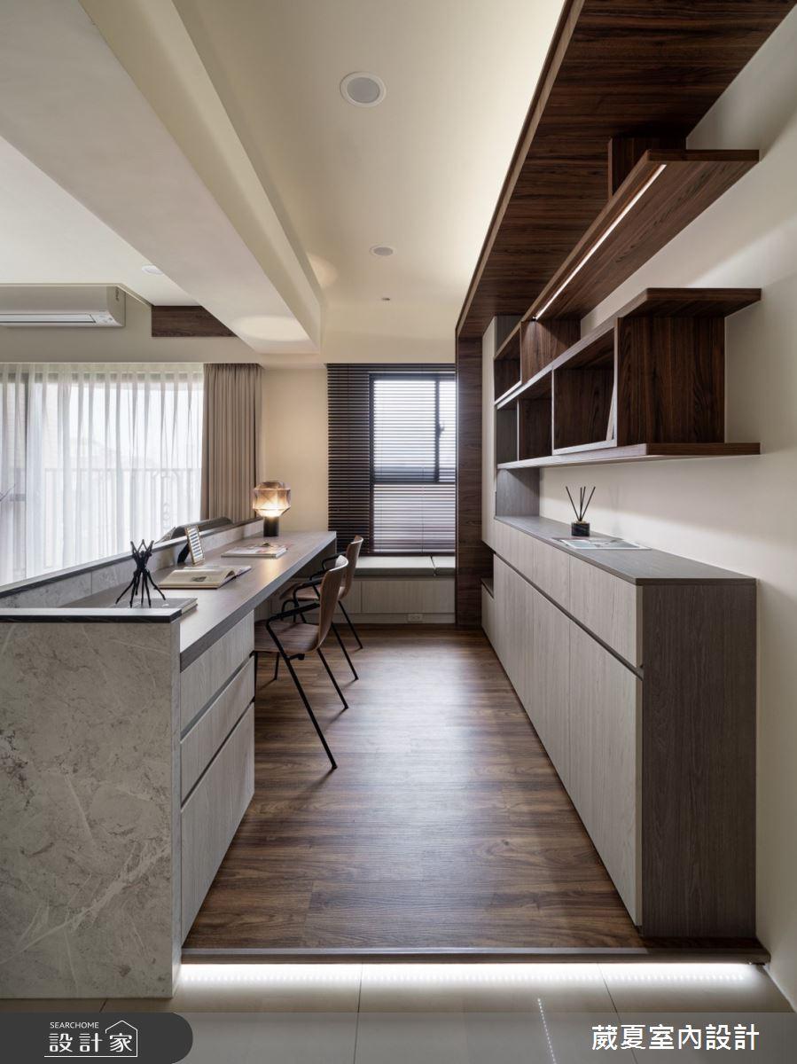 40坪新成屋(5年以下)_現代風案例圖片_葳夏室內設計_葳夏_17之14