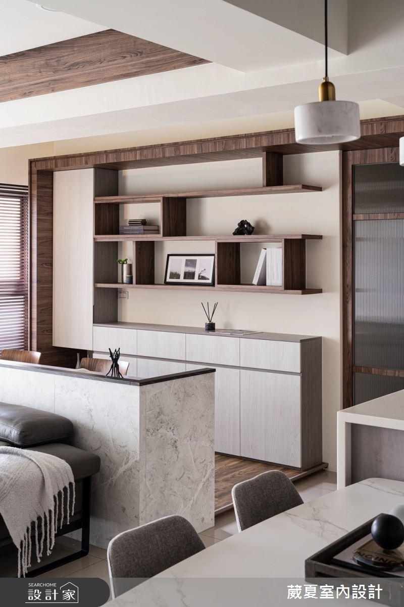 40坪新成屋(5年以下)_現代風案例圖片_葳夏室內設計_葳夏_17之16