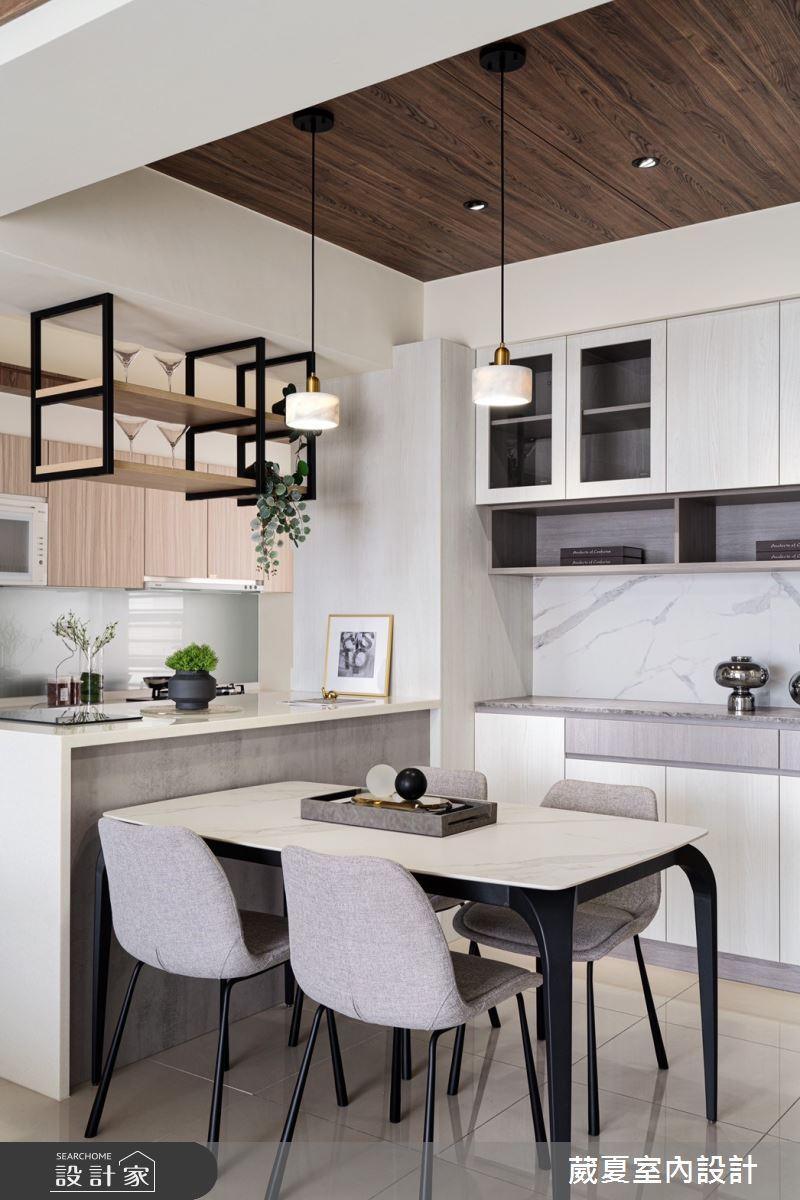 40坪新成屋(5年以下)_現代風餐廳案例圖片_葳夏室內設計_葳夏_17之7