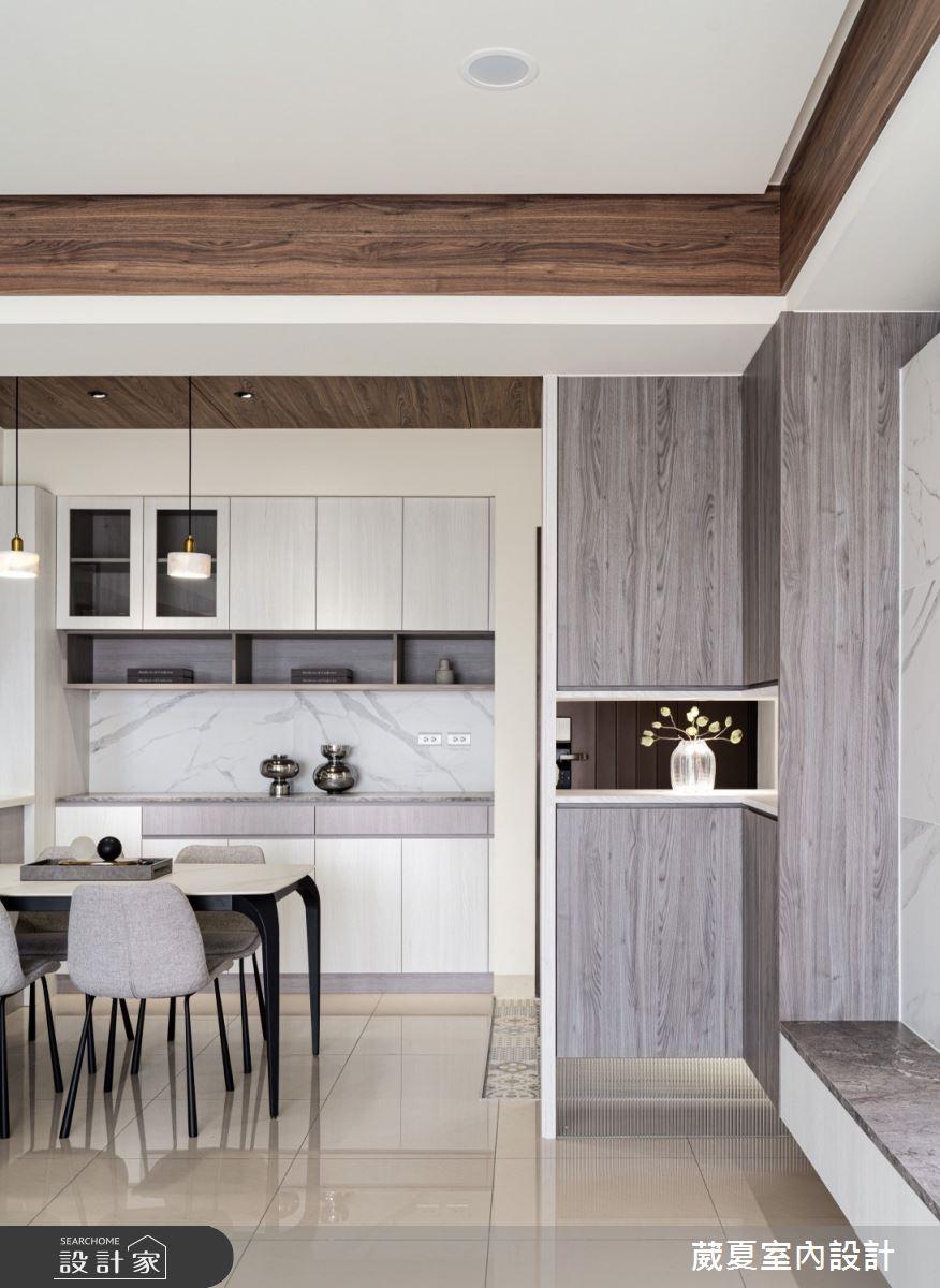 40坪新成屋(5年以下)_現代風玄關餐廳案例圖片_葳夏室內設計_葳夏_17之5