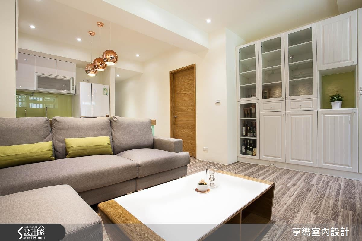 17坪_北歐風客廳案例圖片_享嚮室內裝修規劃有限公司_享嚮_08之2
