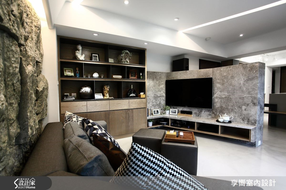 30坪新成屋(5年以下)_現代風客廳案例圖片_享嚮室內裝修規劃有限公司_享嚮_10之1