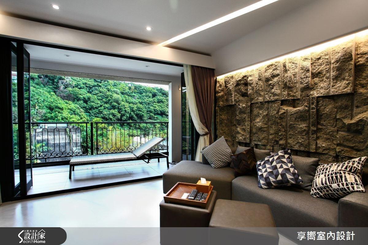 30坪新成屋(5年以下)_現代風客廳案例圖片_享嚮室內裝修規劃有限公司_享嚮_10之3