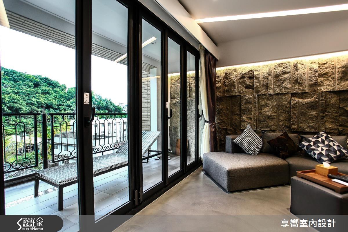 30坪新成屋(5年以下)_現代風客廳案例圖片_享嚮室內裝修規劃有限公司_享嚮_10之4