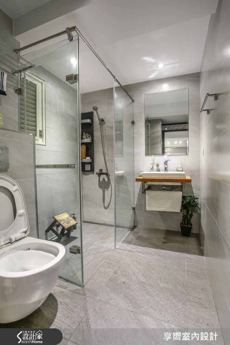 30坪新成屋(5年以下)_現代風浴室案例圖片_享嚮室內裝修規劃有限公司_享嚮_10之11