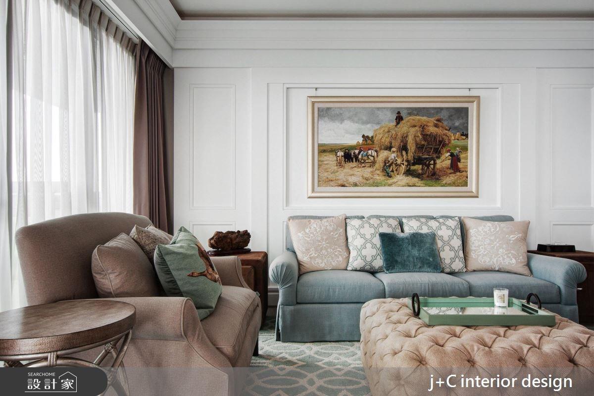 102坪新成屋(5年以下)_新古典客廳案例圖片_杰宸室內設計有限公司_杰宸_02之1