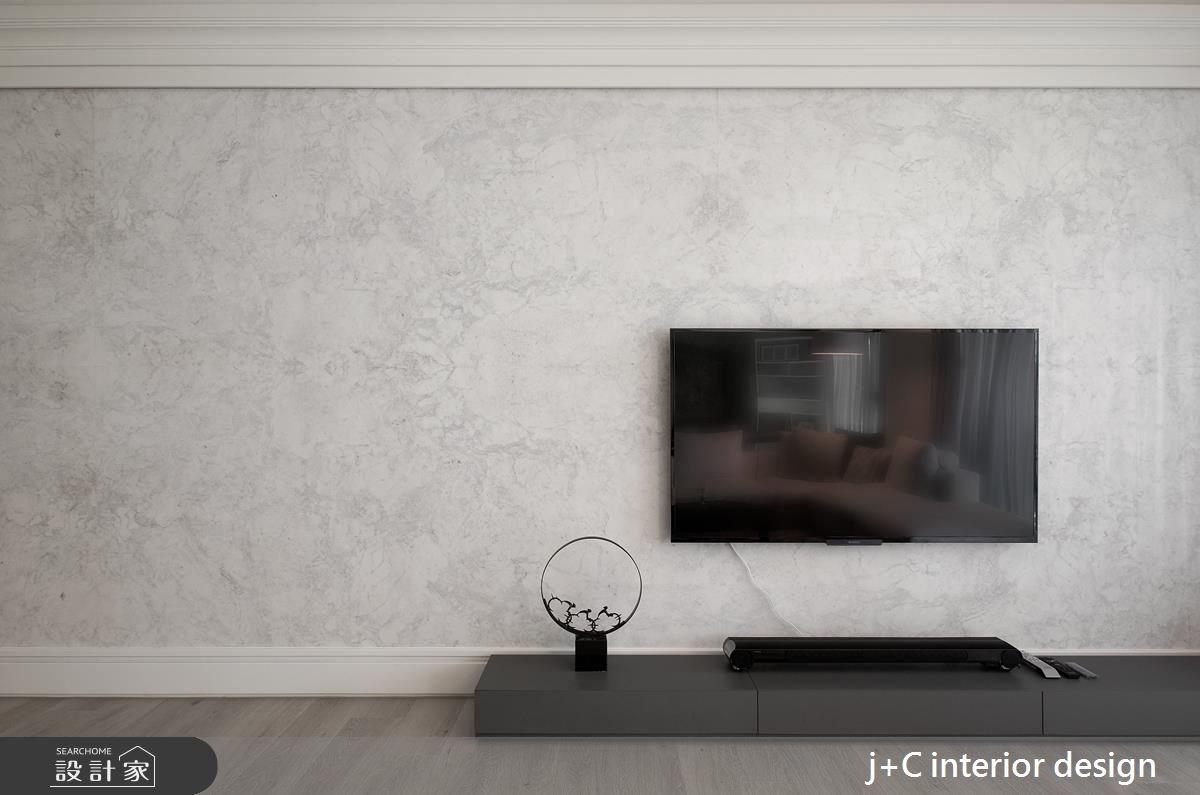 80坪新成屋(5年以下)_新古典客廳案例圖片_杰宸室內設計有限公司_杰宸_04之4
