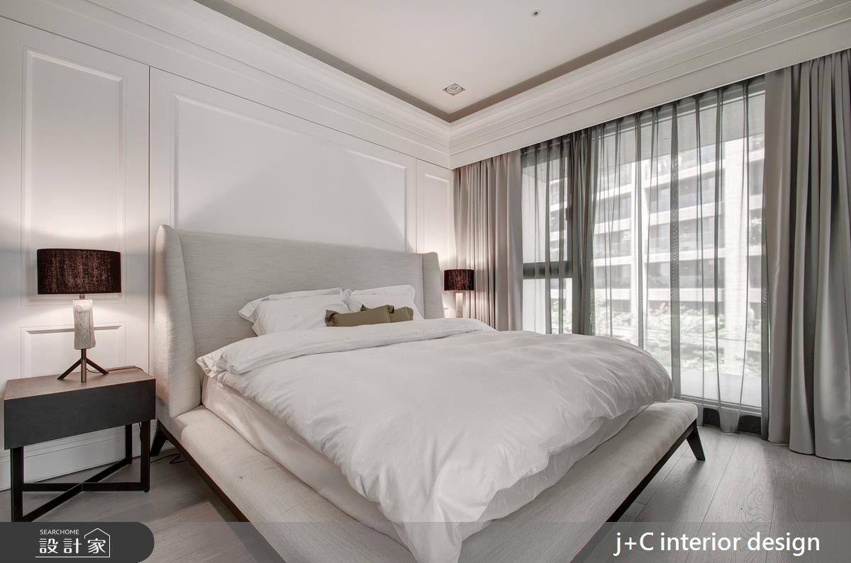 80坪新成屋(5年以下)_新古典臥室案例圖片_杰宸室內設計有限公司_杰宸_04之10