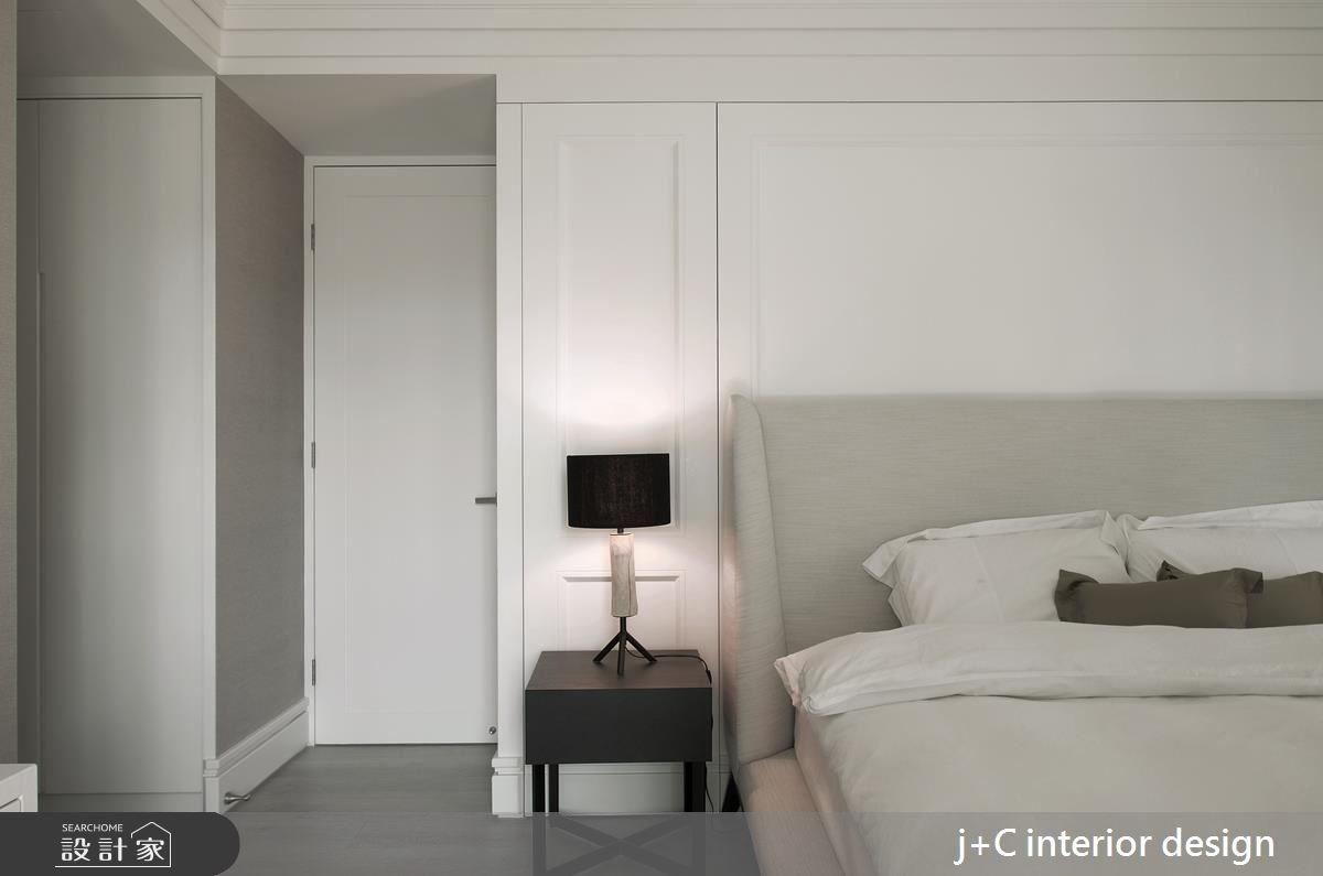 80坪新成屋(5年以下)_新古典臥室案例圖片_杰宸室內設計有限公司_杰宸_04之11