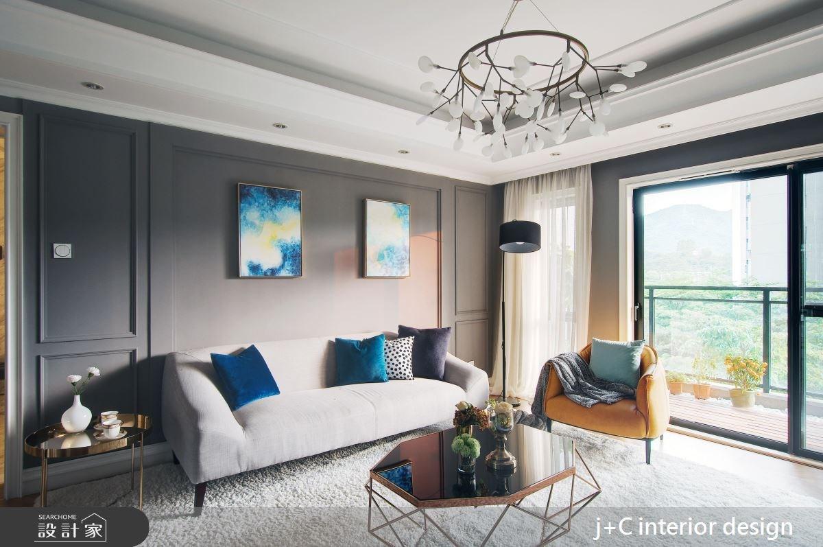 80坪新成屋(5年以下)_現代風客廳案例圖片_杰宸室內設計有限公司_杰宸_05之2