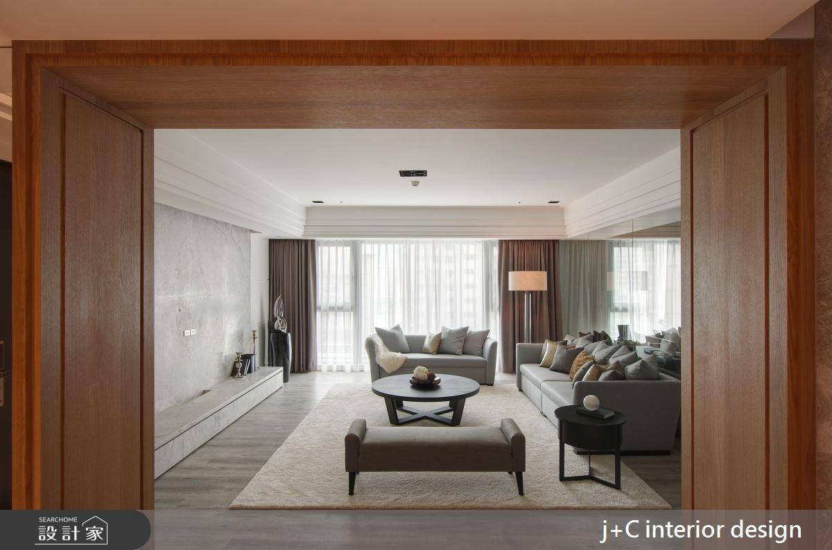 110坪新成屋(5年以下)_新古典客廳案例圖片_杰宸室內設計有限公司_杰宸_06之3