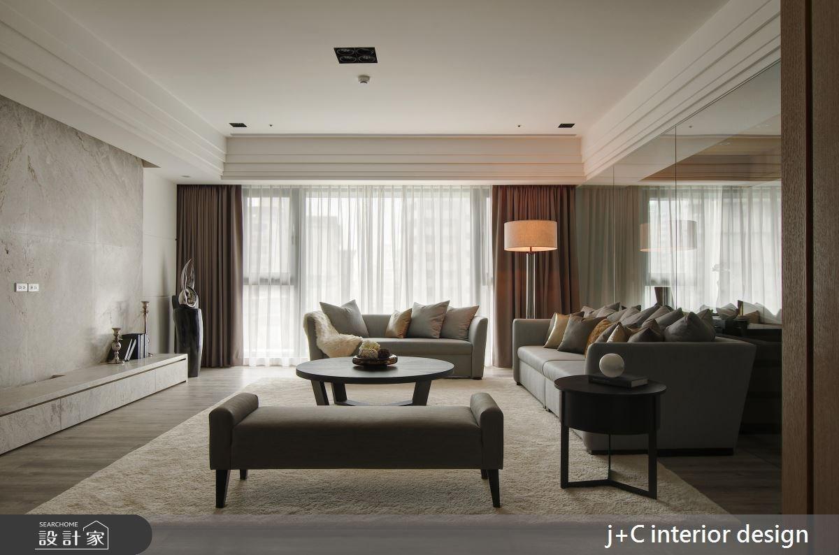 110坪新成屋(5年以下)_新古典客廳案例圖片_杰宸室內設計有限公司_杰宸_06之4