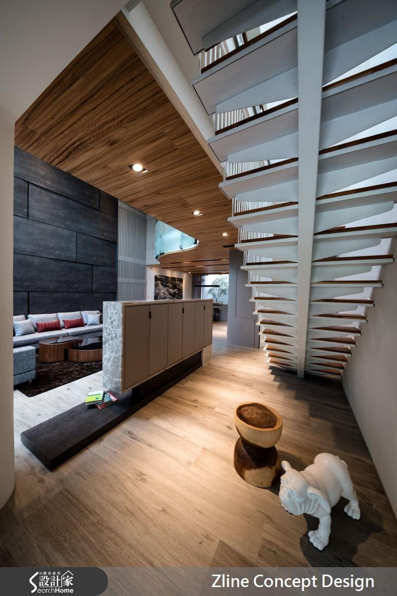 40坪新成屋(5年以下)_休閒風案例圖片_澤林空間設計_澤林_01之1