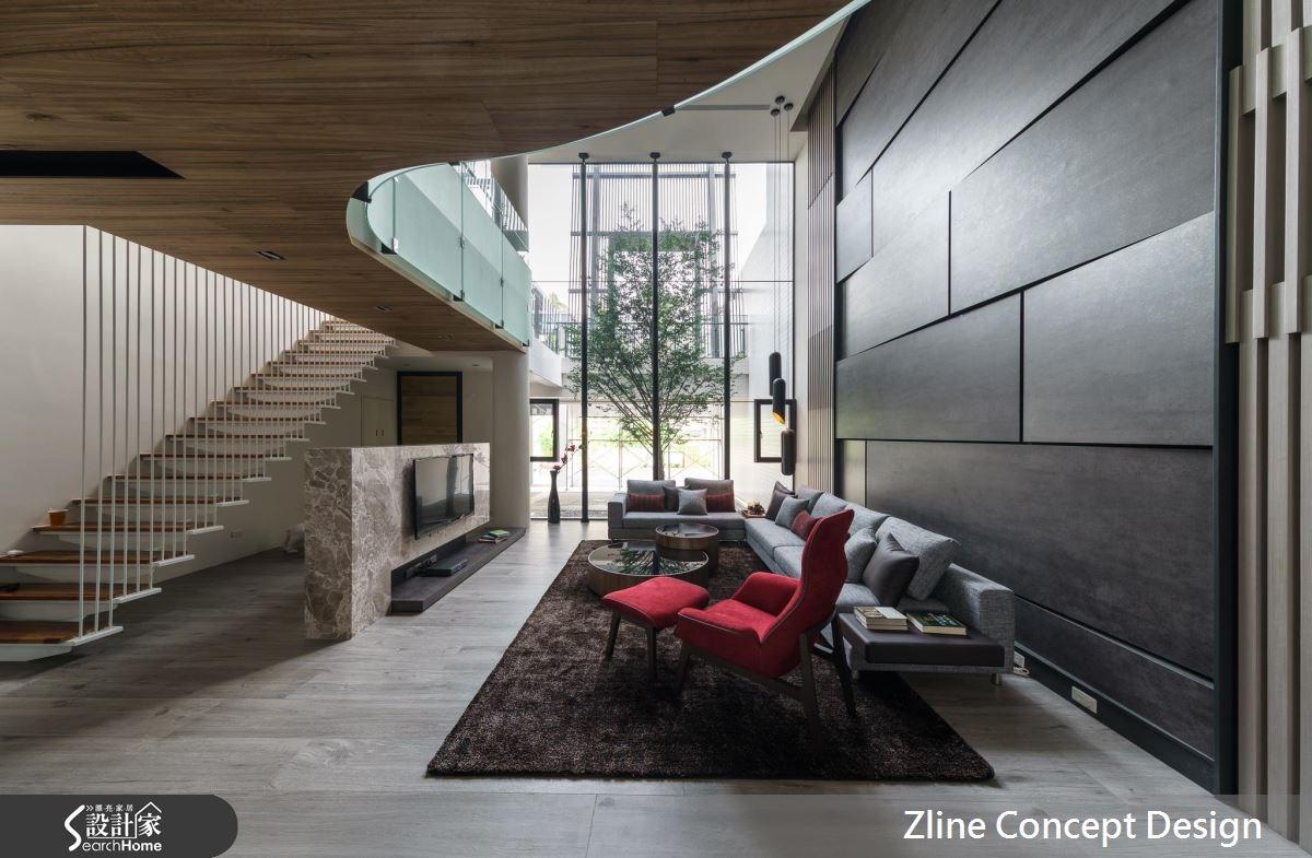 40坪新成屋(5年以下)_休閒風案例圖片_澤林空間設計_澤林_01之2