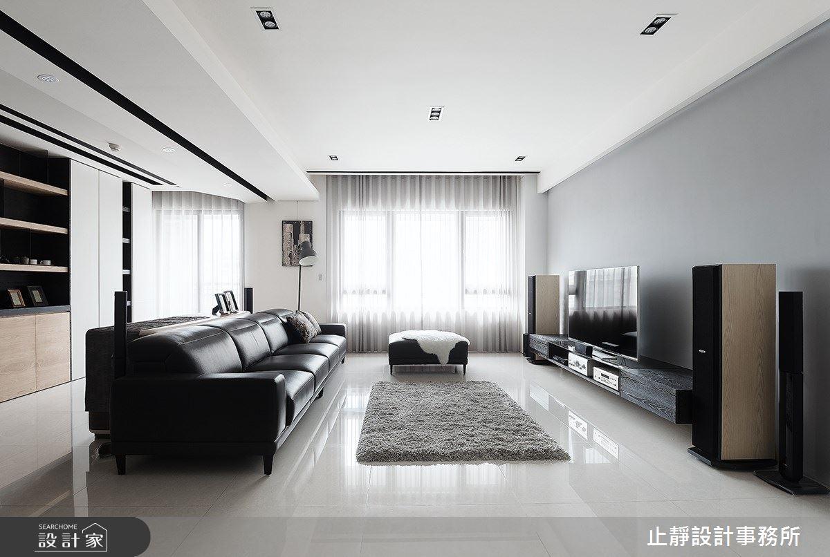 60坪新成屋(5年以下)_現代風案例圖片_止靜設計事務所_止靜_03之3