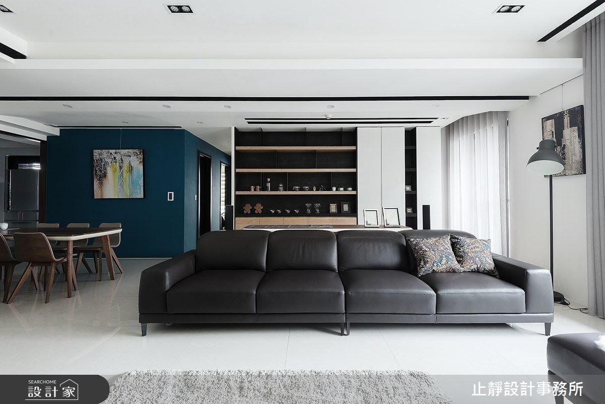 60坪新成屋(5年以下)_現代風案例圖片_止靜設計事務所_止靜_03之4