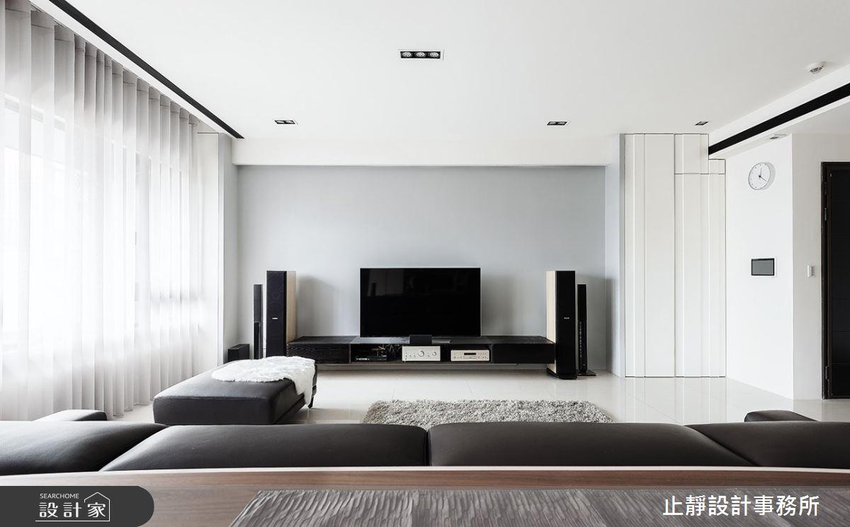 60坪新成屋(5年以下)_現代風案例圖片_止靜設計事務所_止靜_03之6
