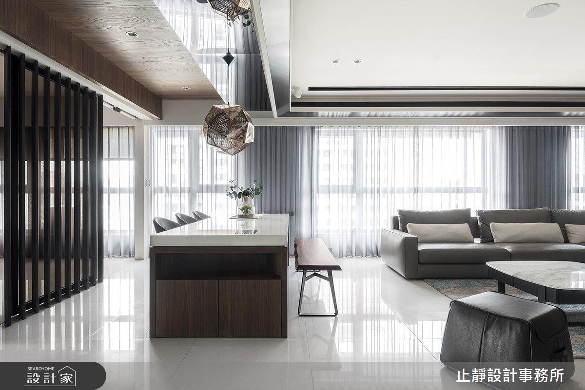 140坪新成屋(5年以下)_現代風案例圖片_止靜設計事務所_止靜_04之3