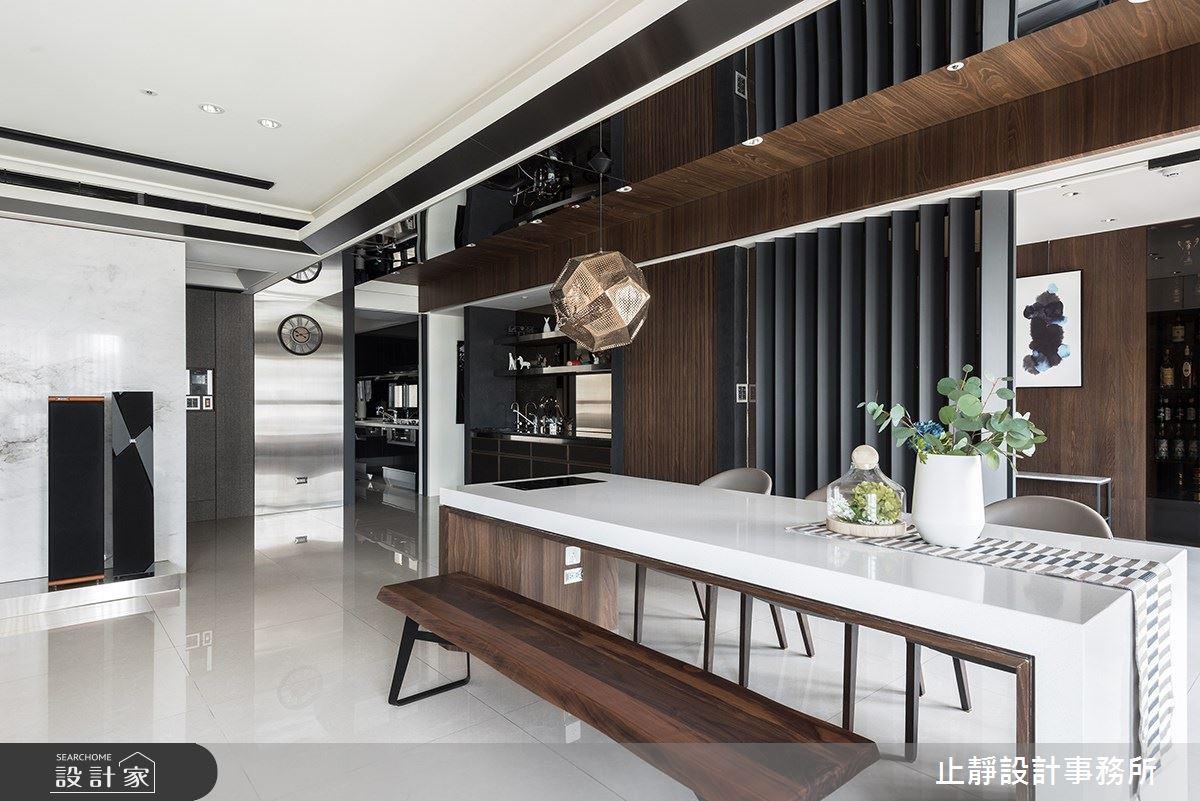140坪新成屋(5年以下)_現代風案例圖片_止靜設計事務所_止靜_04之4