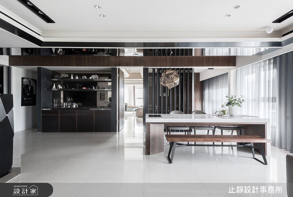 140坪新成屋(5年以下)_現代風案例圖片_止靜設計事務所_止靜_04之5