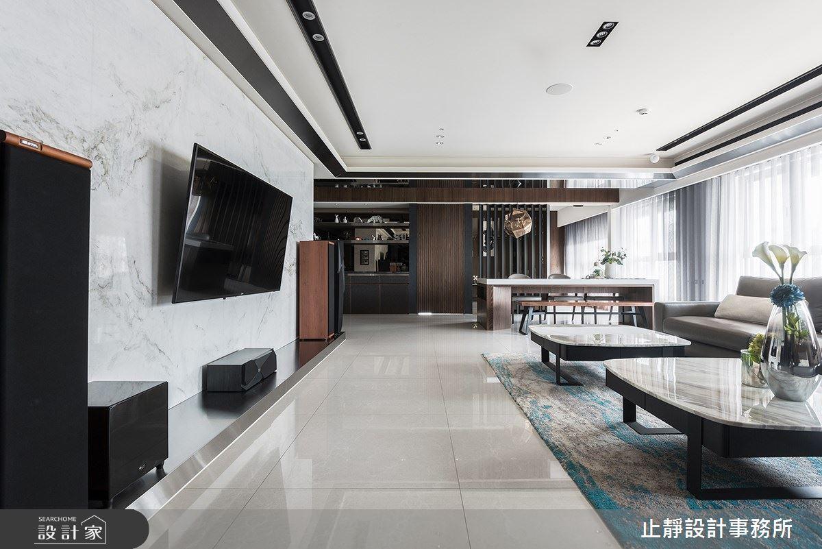 140坪新成屋(5年以下)_現代風案例圖片_止靜設計事務所_止靜_04之6