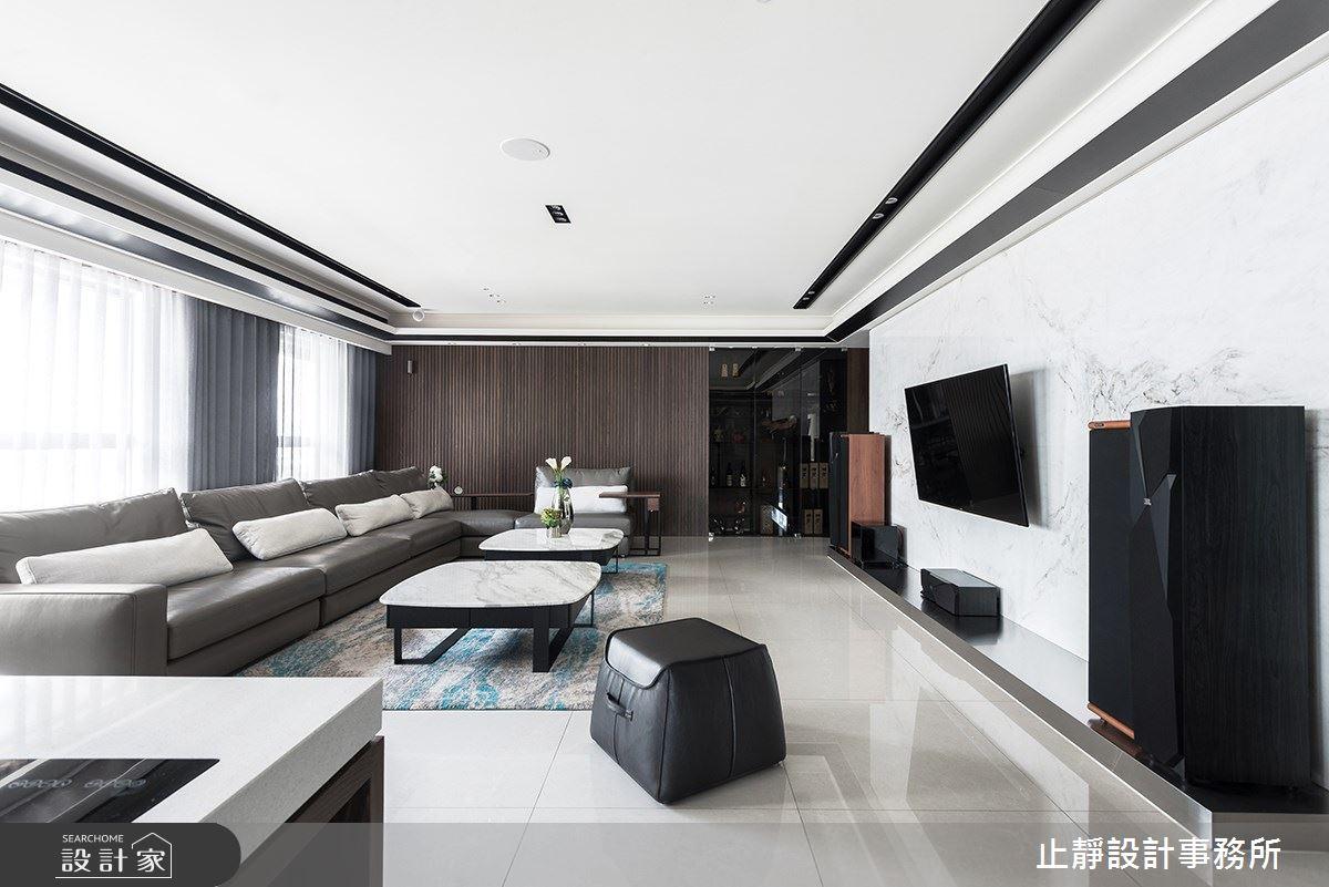 140坪新成屋(5年以下)_現代風案例圖片_止靜設計事務所_止靜_04之8