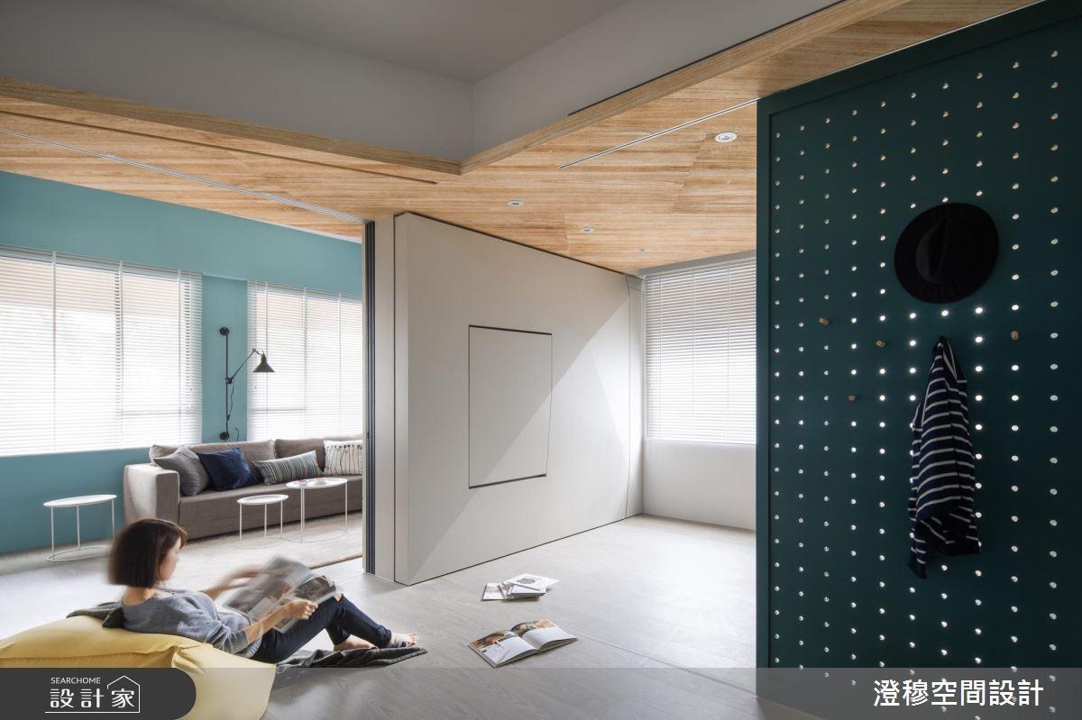 16坪_北歐風客廳案例圖片_澄穆空間設計_澄穆_01之2