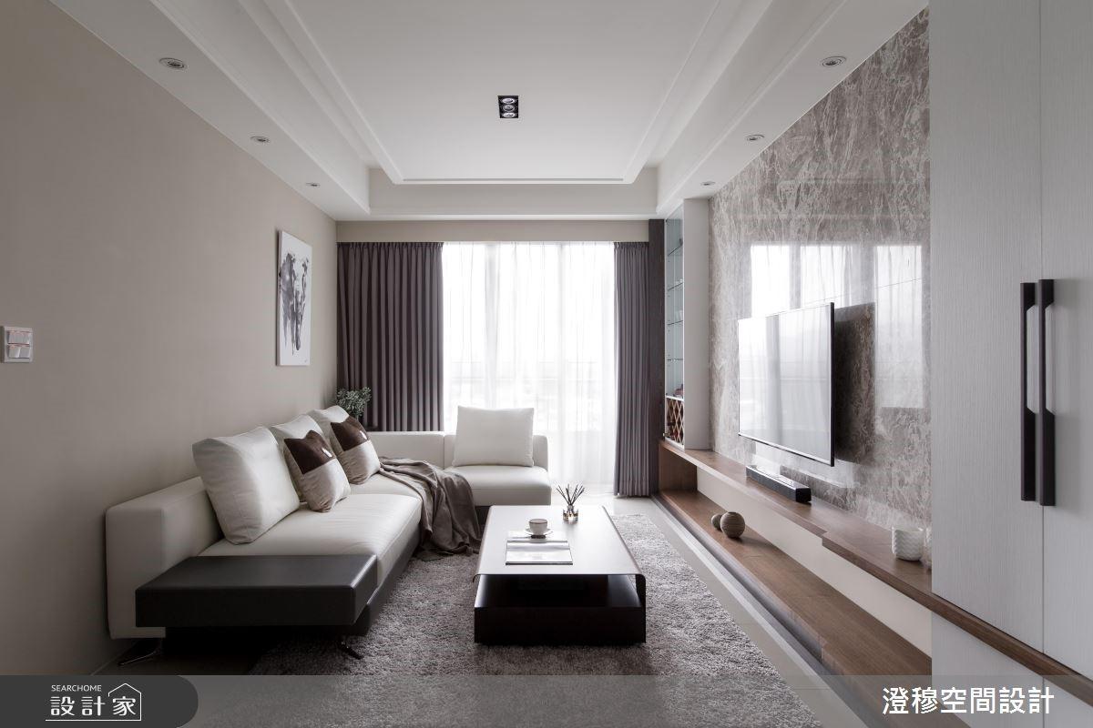 14坪新成屋(5年以下)_現代風客廳案例圖片_澄穆空間設計_澄穆_06之4
