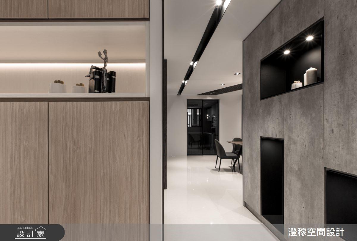 44坪新成屋(5年以下)_現代風玄關案例圖片_澄穆空間設計_澄穆_09之3