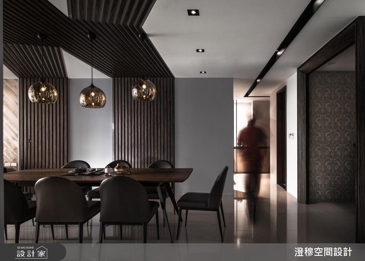 44坪新成屋(5年以下)_現代風餐廳走廊案例圖片_澄穆空間設計_澄穆_09之4