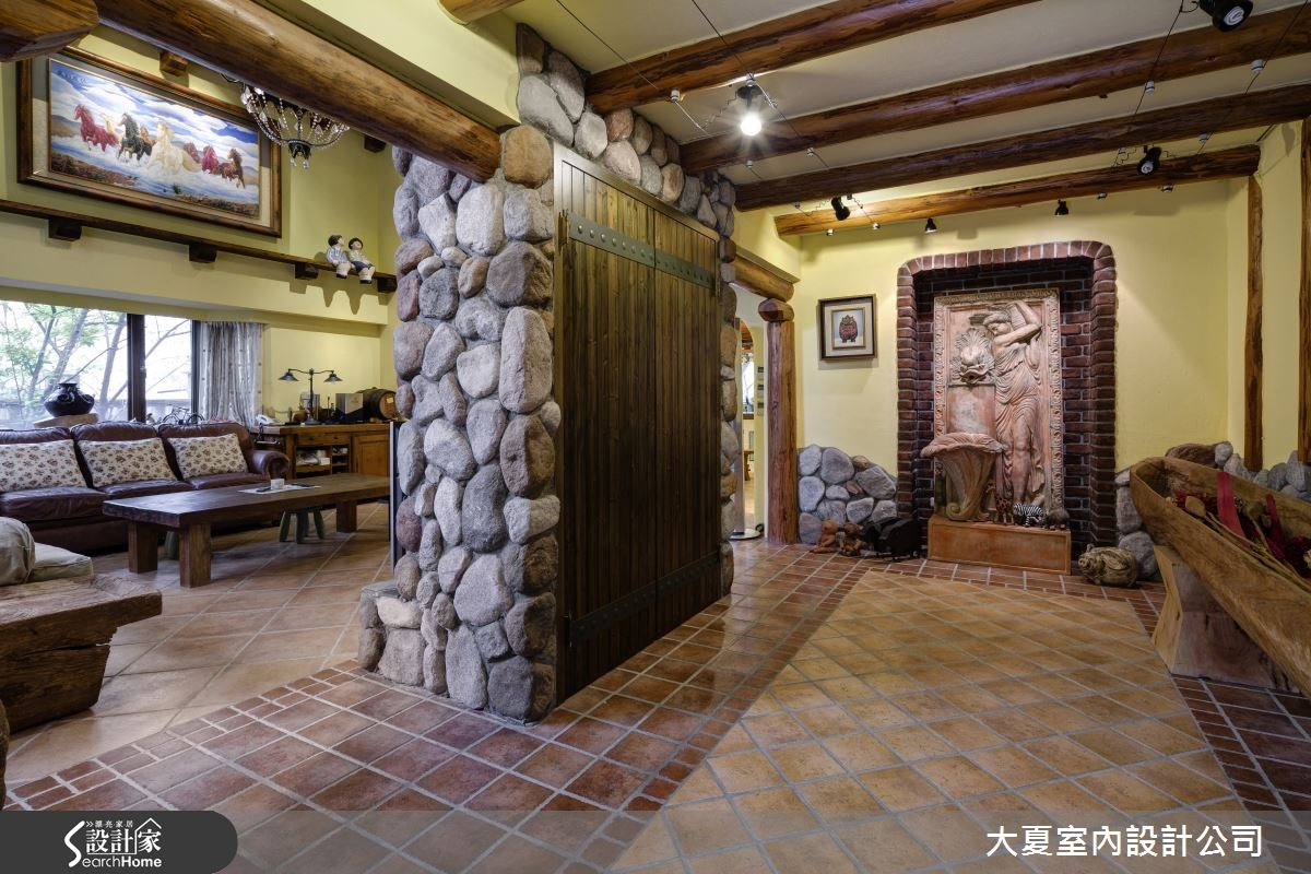 150坪新成屋(5年以下)_鄉村風案例圖片_大夏室內設計公司_大夏_01之4