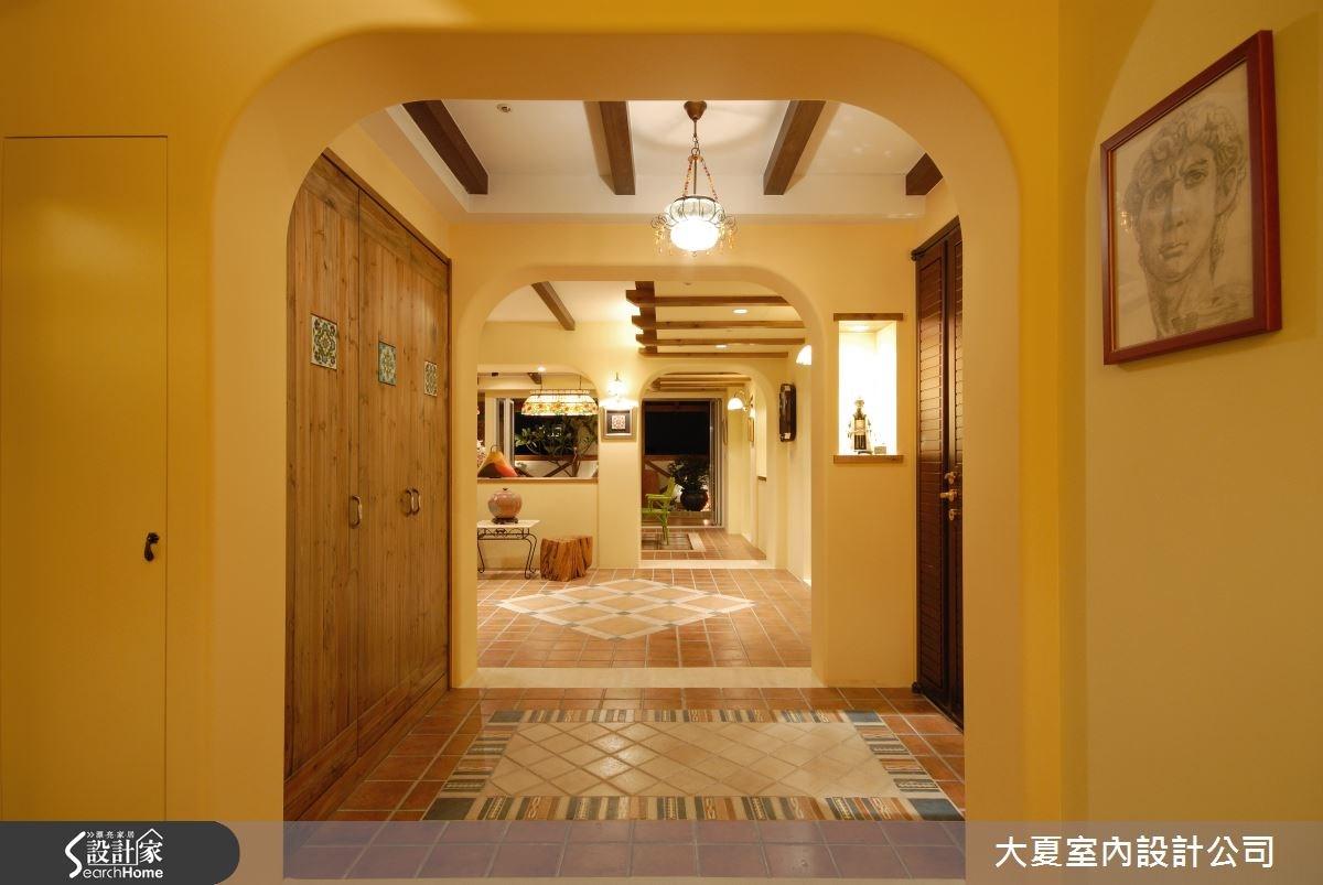 95坪新成屋(5年以下)_鄉村風案例圖片_大夏室內設計公司_大夏_02之2