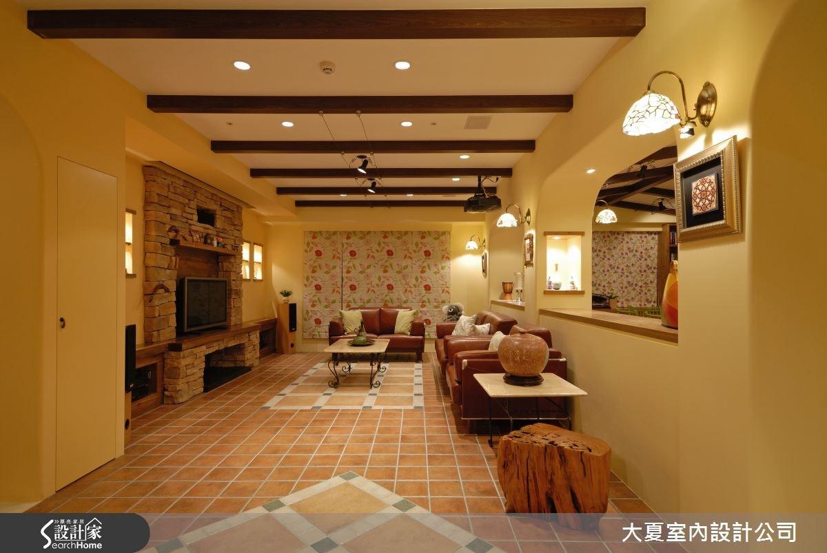 95坪新成屋(5年以下)_鄉村風案例圖片_大夏室內設計公司_大夏_02之4