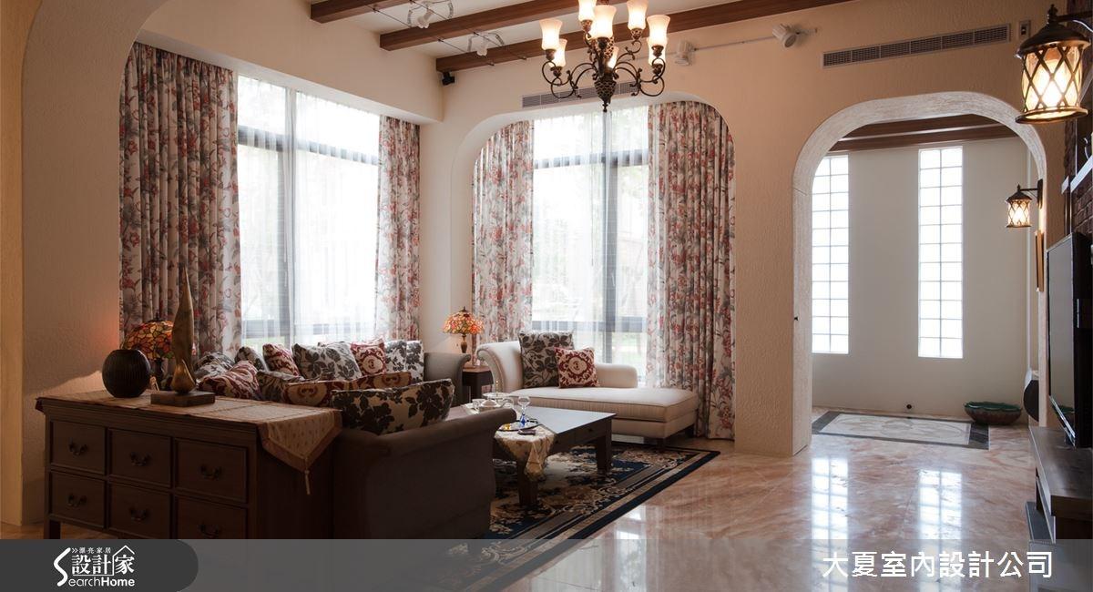 150坪新成屋(5年以下)_鄉村風案例圖片_大夏室內設計公司_大夏_04之2