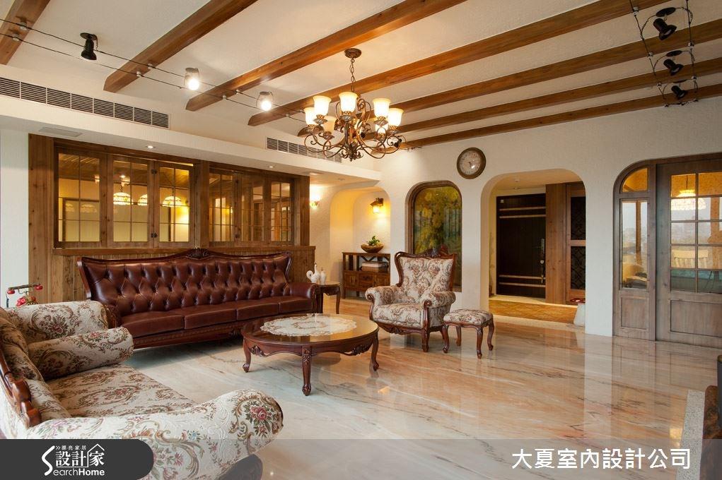 88坪新成屋(5年以下)_鄉村風餐廳案例圖片_大夏室內設計公司_大夏_12之3