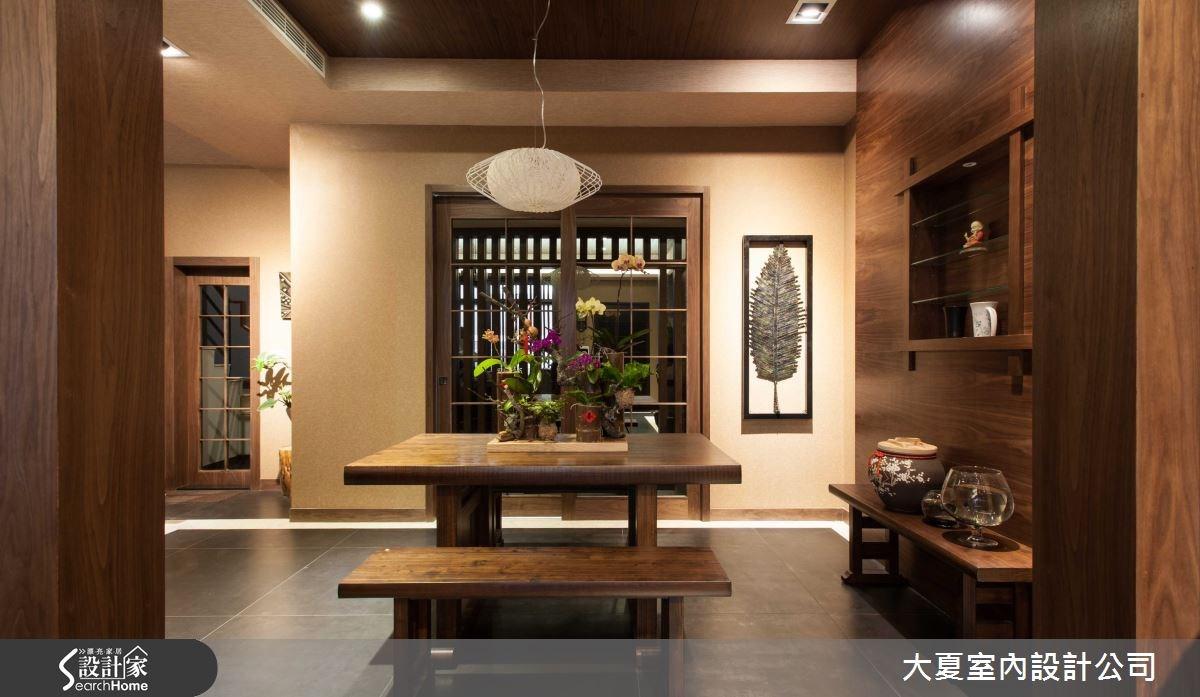 74坪新成屋(5年以下)_人文禪風餐廳案例圖片_大夏室內設計公司_大夏_13之5